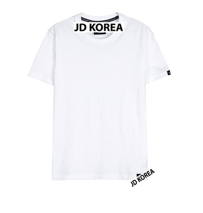 덤핑 국내산 남녀공용 면반팔 티셔츠, 톡톡원단 반팔티