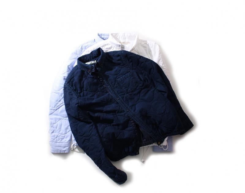 [완사입/파샬] 워크 패딩 셔츠 자켓 2컬러 - 165장 4000원
