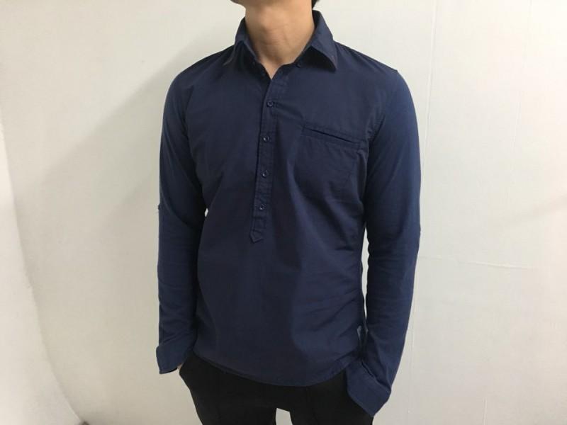[완사입] k516 남성 아오락 셔츠 2컬러 - 15장 4000원