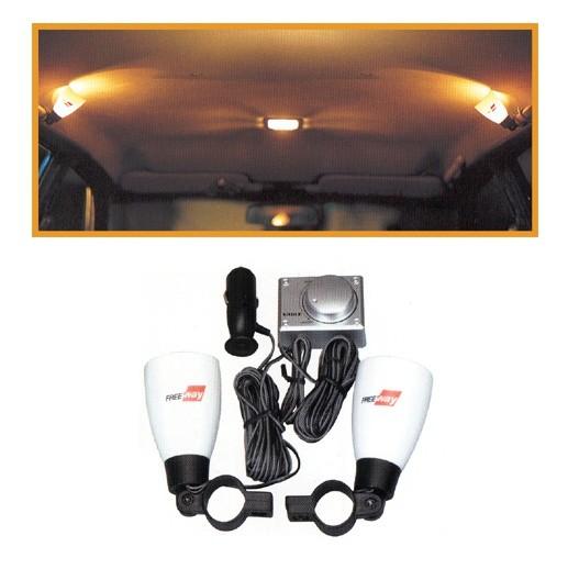 차량 냄프국산/실내램프 이글RV무드 램프 /볼륨 스위치로 내가 원하는 밝기 조절기능 /12V 전용
