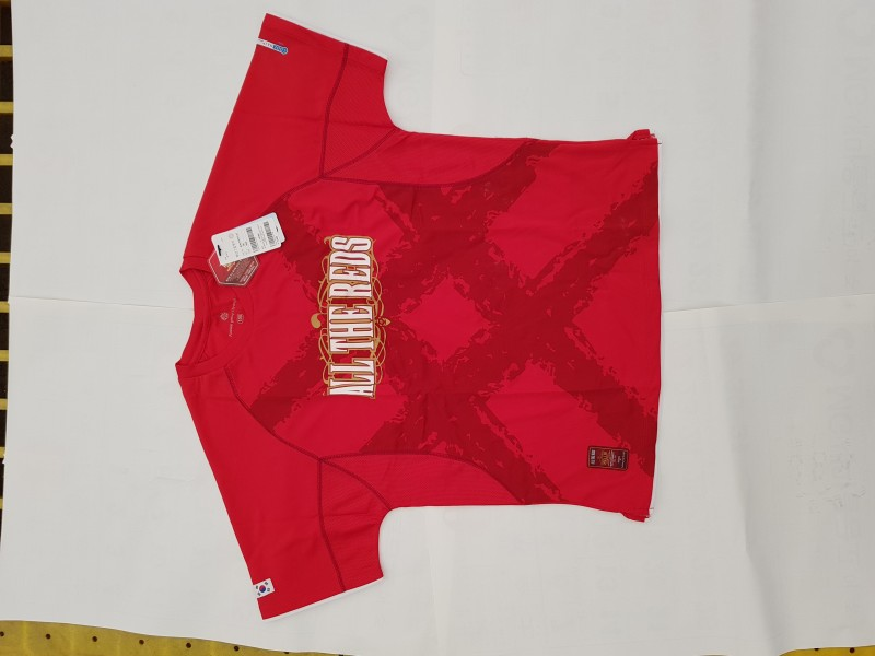 ALL THE REDS 형지 티셔츠