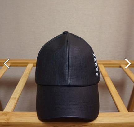 롱스트랩 XXXXX 자수 모자