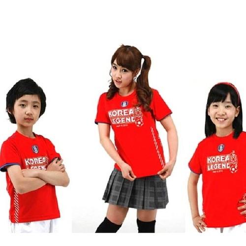 정품 아동 붉은악마 티셔츠(선택)