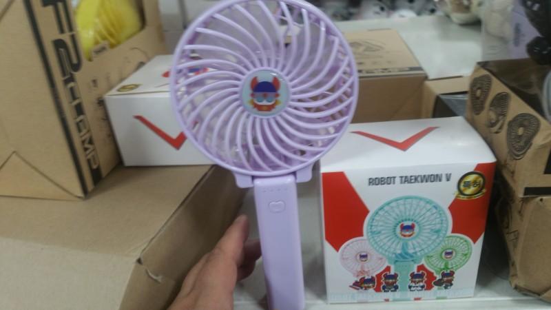 LED 2018 년 신상 선풍기 태권브이선풍기 USB 선풍기
