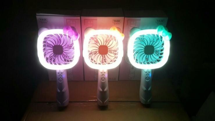 LED 선풍기 미키미니 태권도 선풍기
