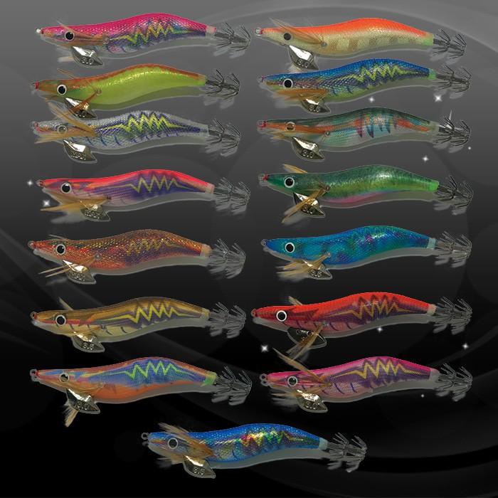 카미에기 프리미엄 - 무늬오징어 3호 3.5호 에기 에깅