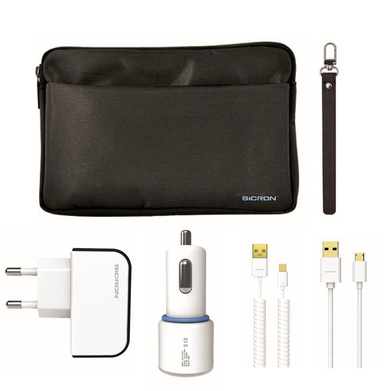 아이폰8핀 가정용/차량용 충전기 사은품세트(파우치증정)