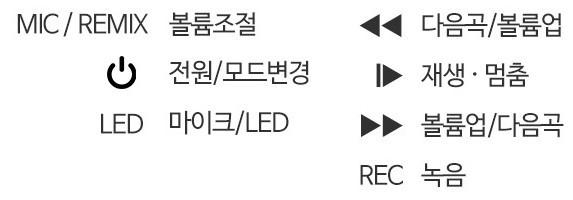 미러볼 LED 노래방블루투스마이크