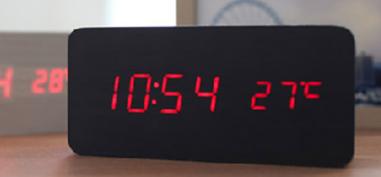 LED 무소음 탁상시계
