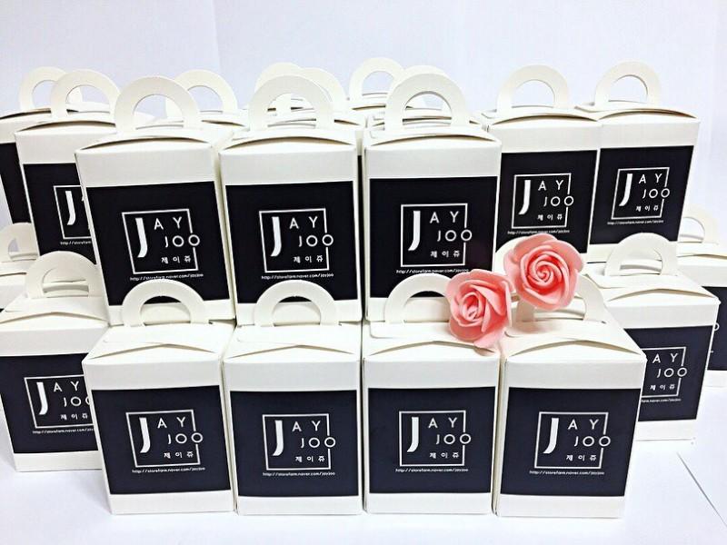 단체선물용 답례품용 딸기캔들