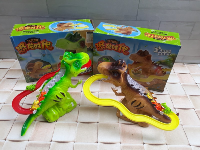 레일공룡.레일차.공룡.장난감