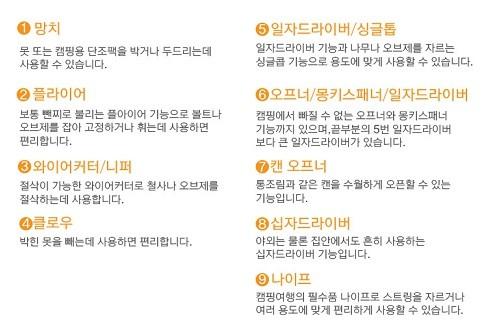 손망치7종다기능툴