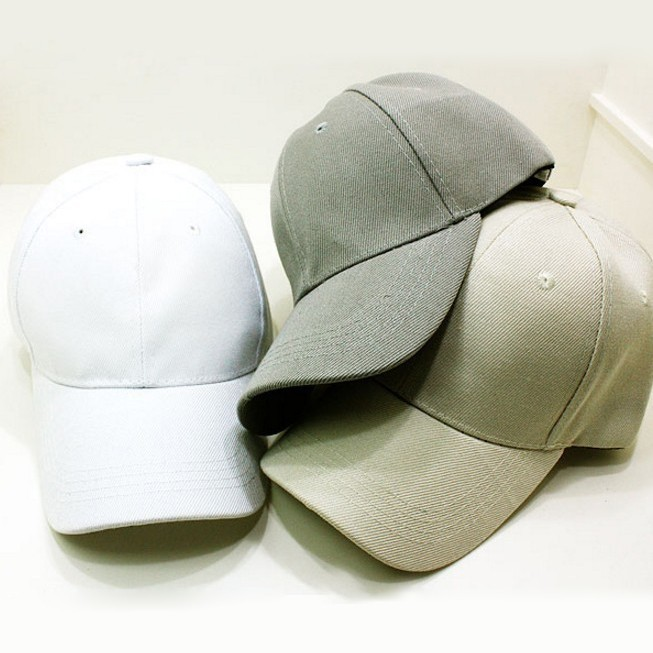 아주 경미한 하자 있는 무지 야구모자, 대두볼캡이라고 불리는 큰 모자 원가 절반 이하 가격에 땡처리합니다!