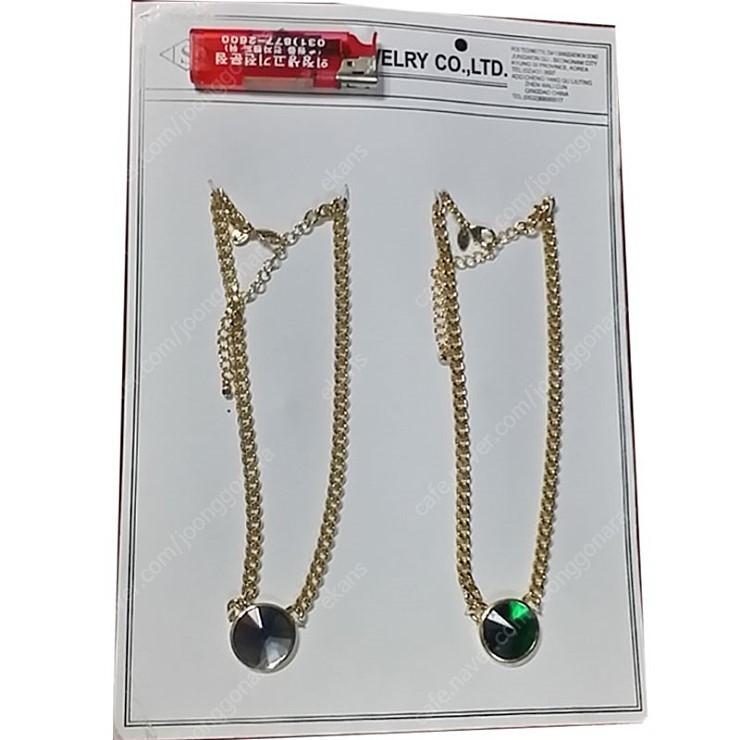 회사쌤플 목걸이 반지 귀걸이 셋트제품