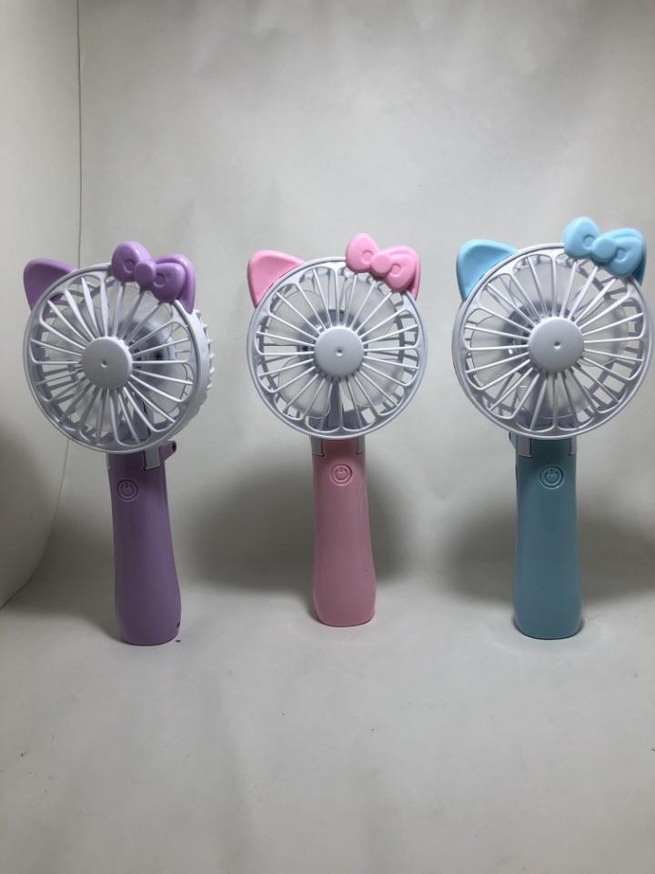 큐트선풍기 마지막 재고 원가처분 (핑크,블루 남았습니다.)
