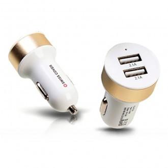 스위스커버 차량용 USB 2포트 충전기 (5V/2.4A)