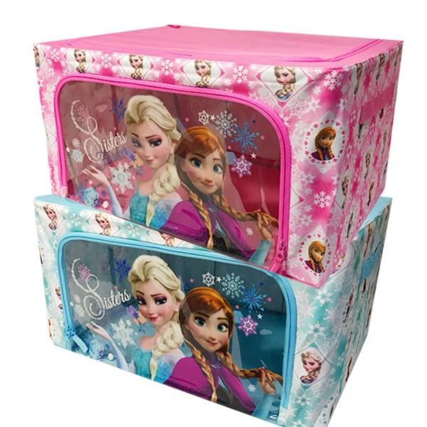 정품 디즈니 미키마우스리빙박스 겨울왕국리빙박스 디즈니리빙박스 캐릭터리빙박스 엘사 옷수납함