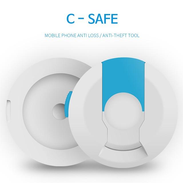 c-safe 핸드폰 분실방지 클립