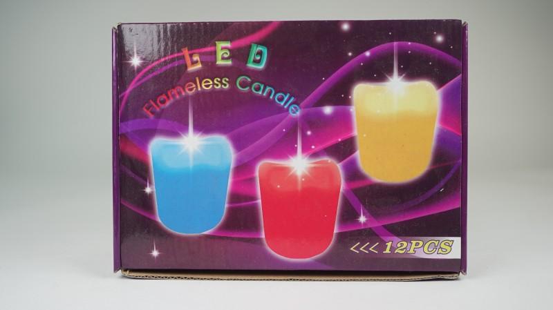 LED 마술 초 1set ( 12개 )