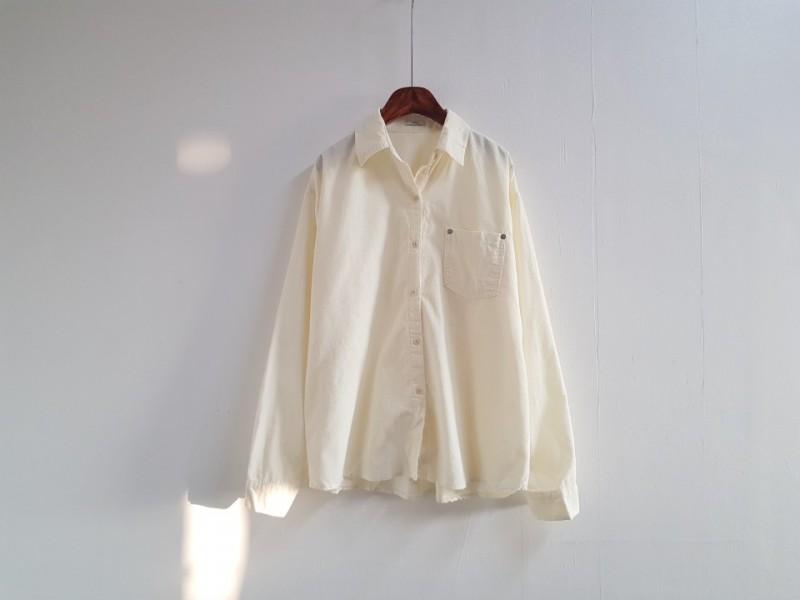 [완사입/파샬] 코듀로이 박시 셔츠 - 8장 4000원