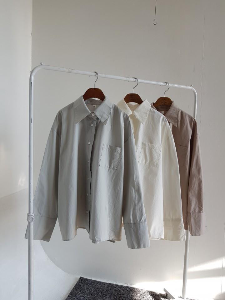 [완사입] 베이직 셔츠 3컬러 - 10장 4000원