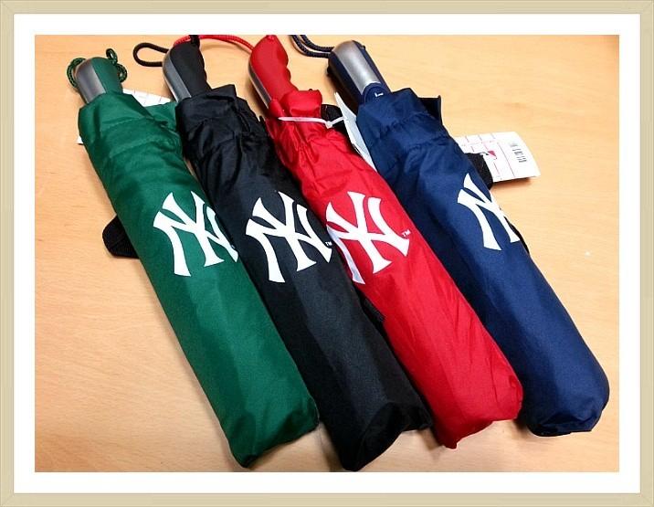 ⚾ MLB 메이저리그 ⚾ 3단 (특대) 완전 자동 우산 ☂