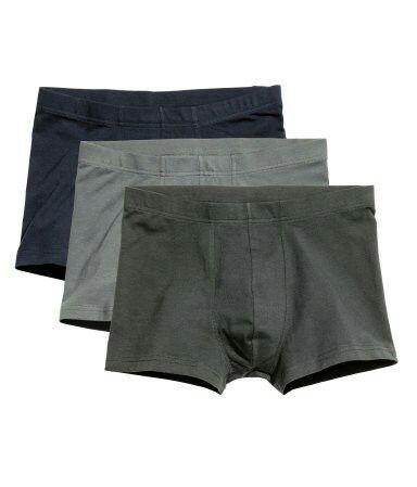 H&M 드로즈 3pack