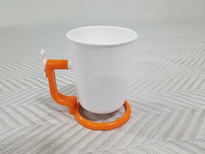 거꾸로 양치컵