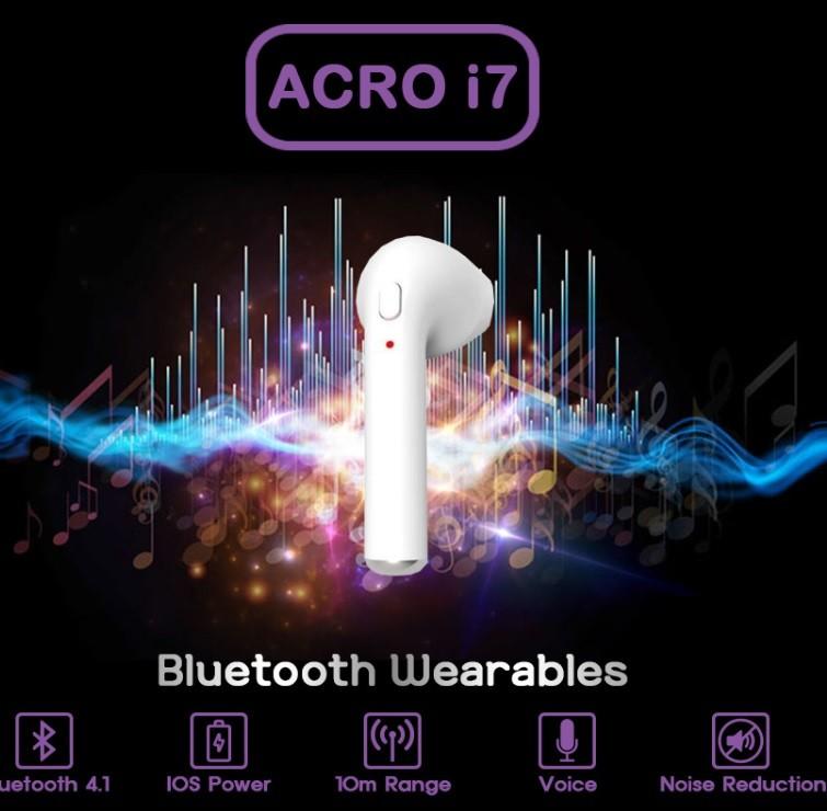 ACRO I7 에어팟형 블루투스 이어폰 [오른쪽]