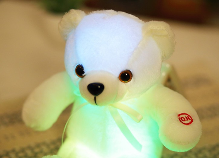 LED 빛나는 테디베어인형 크리스마스 상품 미리 준비하세요.