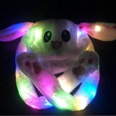 토끼 LED 모자 재고 처분