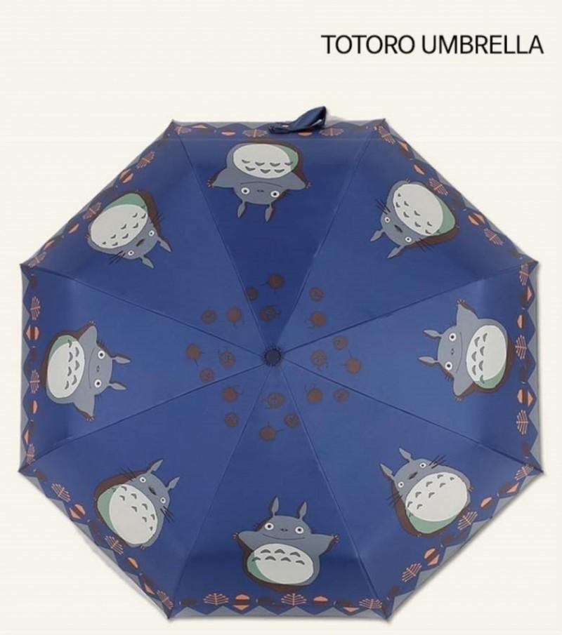 캐릭터 토토로 3단 자동우산