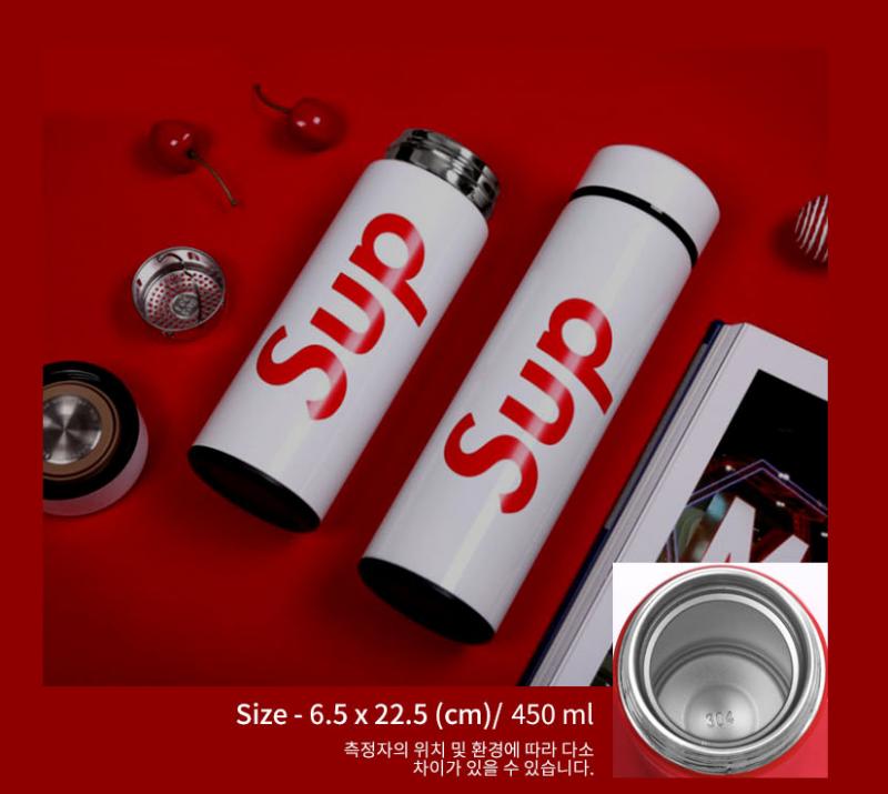 슈프림 텀블러 도매 드립니다.3가지 색상 5500원 304재질 최고의 퀄리티 가성비