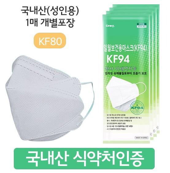 황사마스키 미세먼지 마스크 KF80 kf94