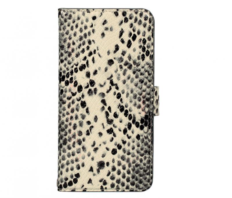 (전모델공용 고급형) 뱀피무늬 소가죽 핸드폰케이스입니다