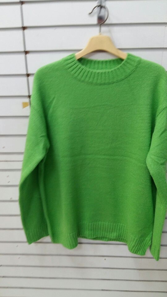 니트(초록색)