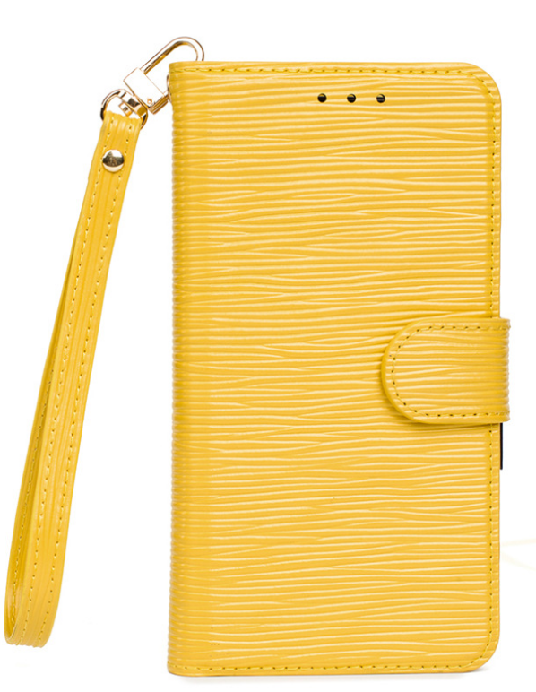 (전모델공용 소가죽)고급형 줄무늬 핸드폰케이스입니다