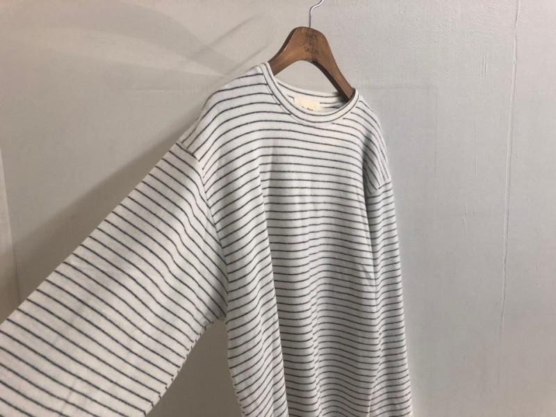 [완사입/파샬] 겉 기모 스트라이프 티셔츠 - 5장 3000원