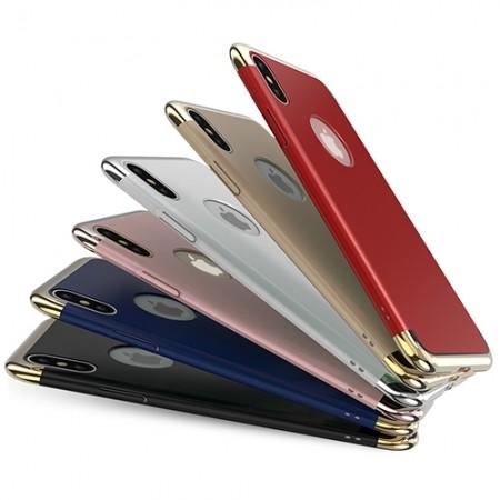 갤럭시/아이폰 3in1 크롬 케이스