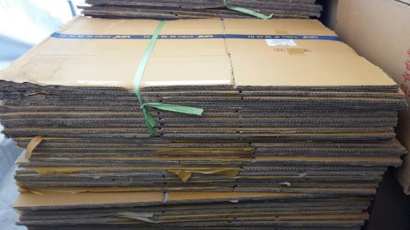 공박스(종이박스) 100장 80,000원(길이60cm,너비43cm,높이  30cm)에 저렴하게 팝니다