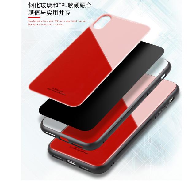 강화유리 휴대폰케이스입니다