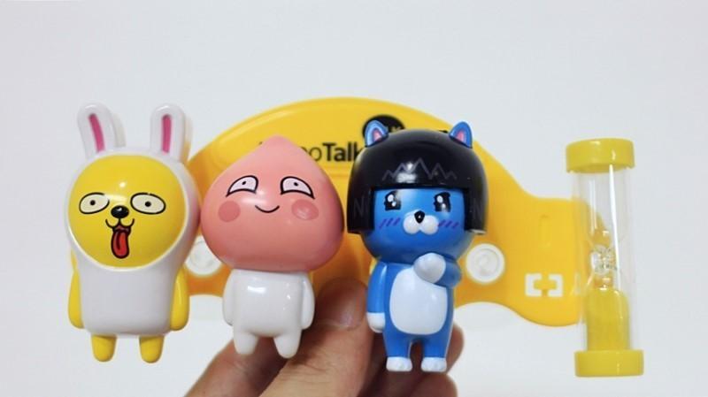 카카오 프렌즈 캐릭터 칫솔걸이 유치원 납품 판촉