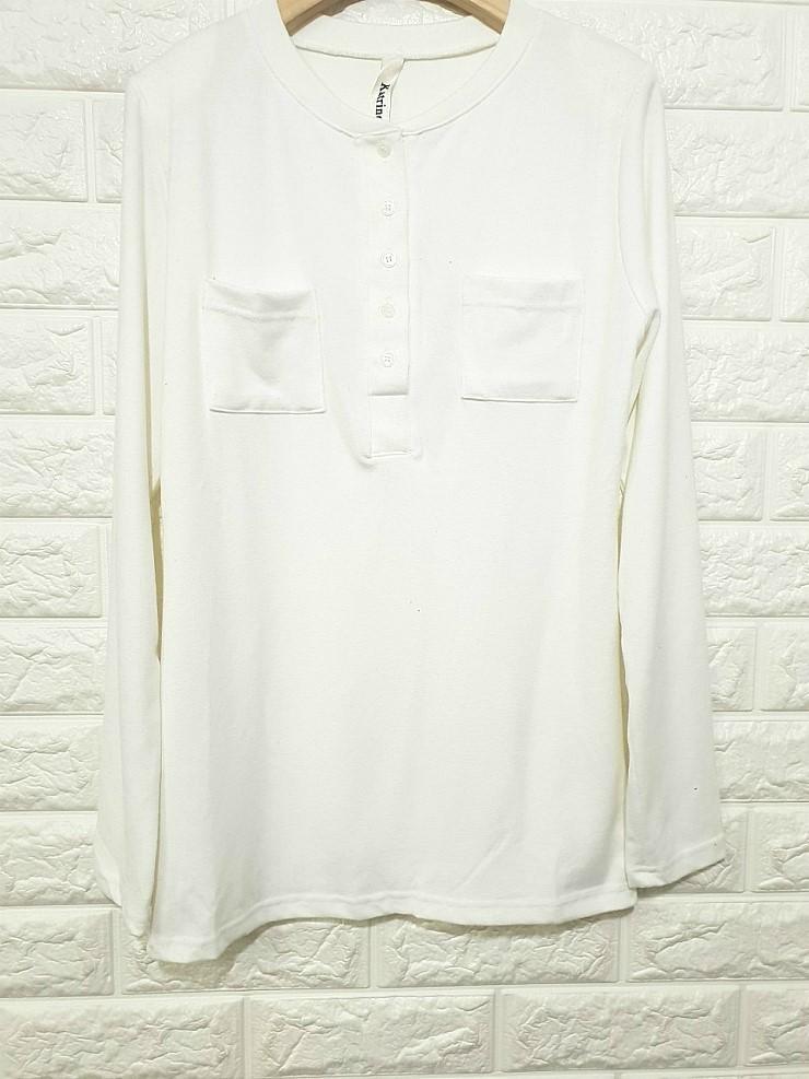 zz1182 포켓 헨리넥 티셔츠 완사시 장당 1,200원