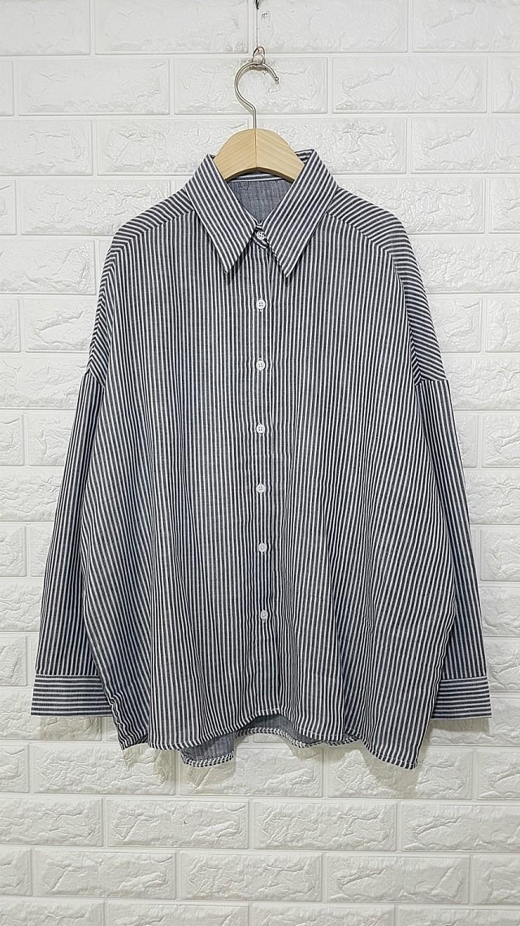 a658 스트라이프 셔츠