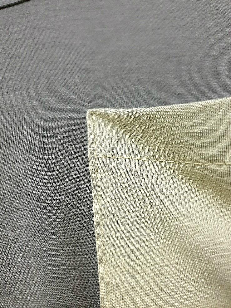zz1217 배색 포켓티셔츠 50장이상 장당 1,000원