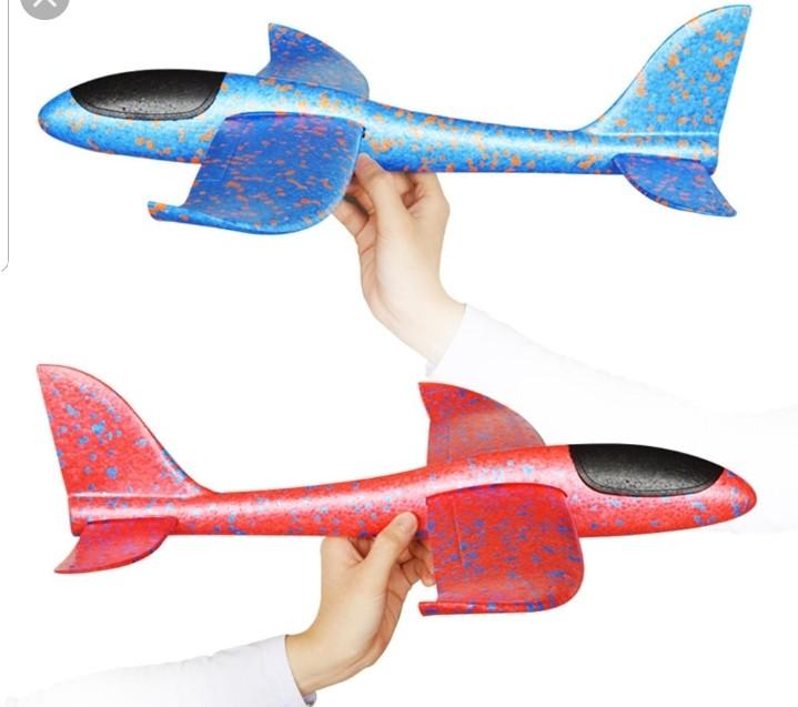 led 에어글라이더 스치로폼비행기 과학선물 행글라이더 캐치볼 장난감 선물