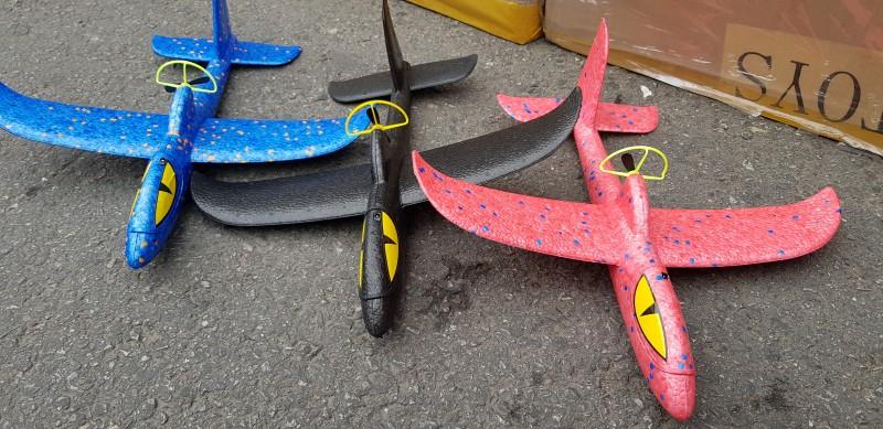 모터충전 에어글라이더 샤크비행기 전동 행글라이더 핸드비행기 캐치볼 장난감
