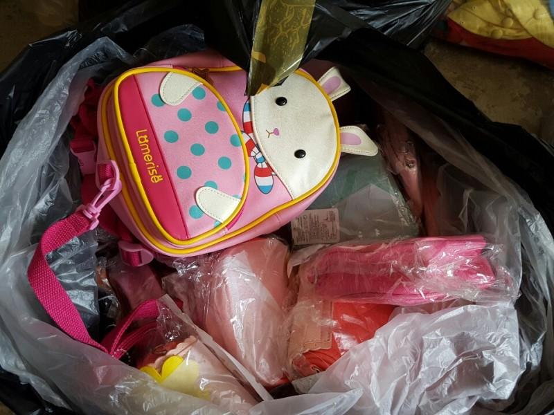 아동 모자 가방 반장 성인 스카프