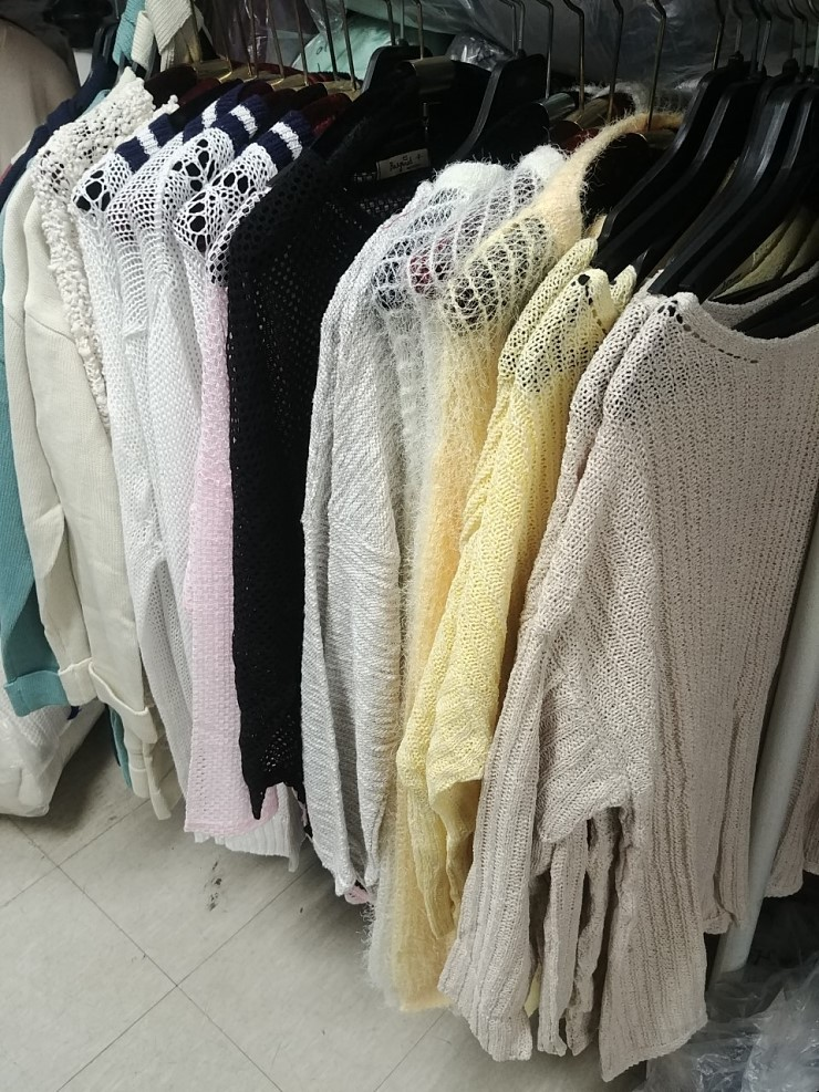 zz1252 행거 봄 니트류mix 장당1,200원