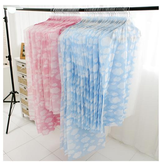 구름무늬투명창옷커버40개세트